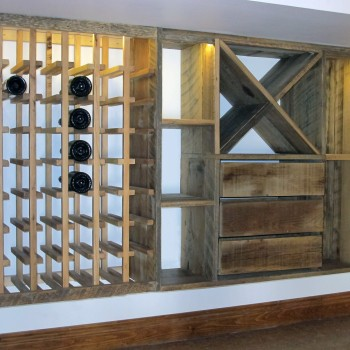 Custom wine cellar - Upstage Interior Design