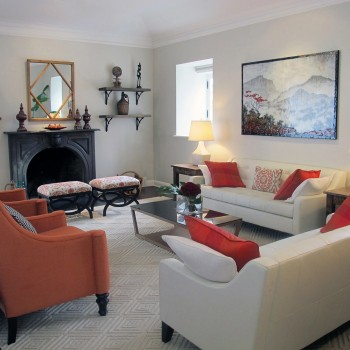 Luxurious living room - Westmount