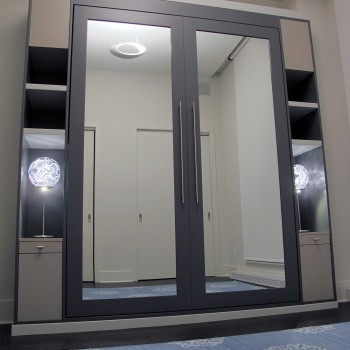 Custom murphy bed - custom unit bedroom