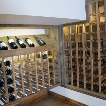 custom wine cellar Montreal - Upstage Interior Design
